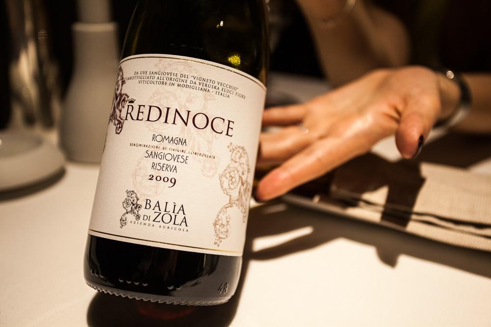 Redinoce, Sangiovese Riserva, Romagna