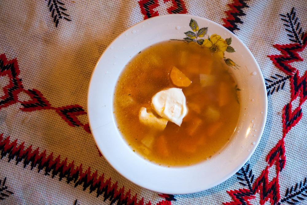 Supă de legume (vegetables soup)