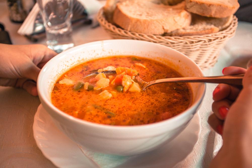 Ciorbă de pui (chicken soup)