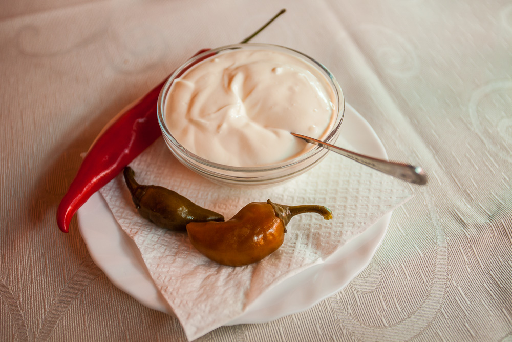 Smantana (Romanian sour cream)