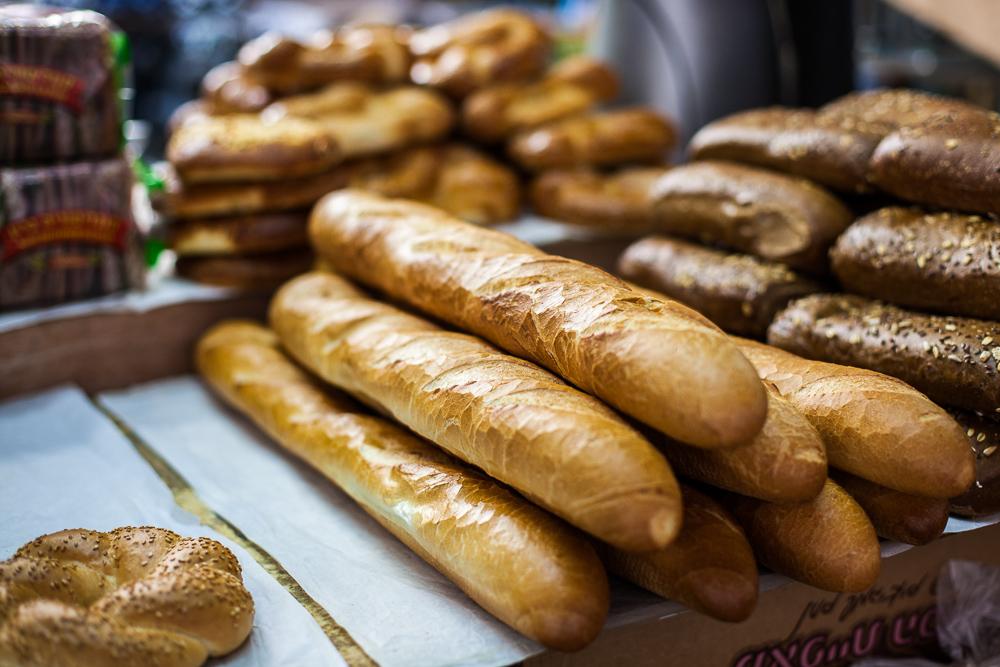 Fresh Bread, Carmel market, Tel Aviv, Israel