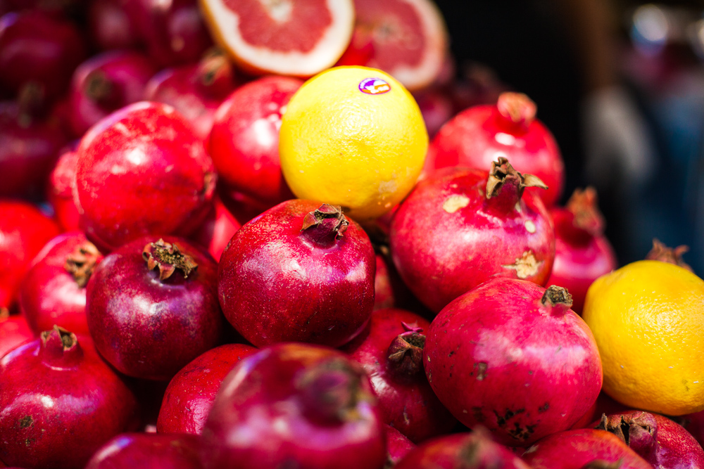 Fruits, Carmel market, Tel Aviv, Israel