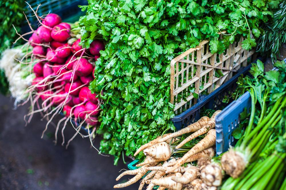 Vegetables, Carmel market, Tel Aviv, Israel