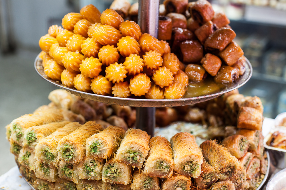Sweets, Carmel market, Tel Aviv, Israel