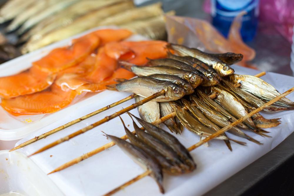 Fish, Carmel market, Tel Aviv, Israel