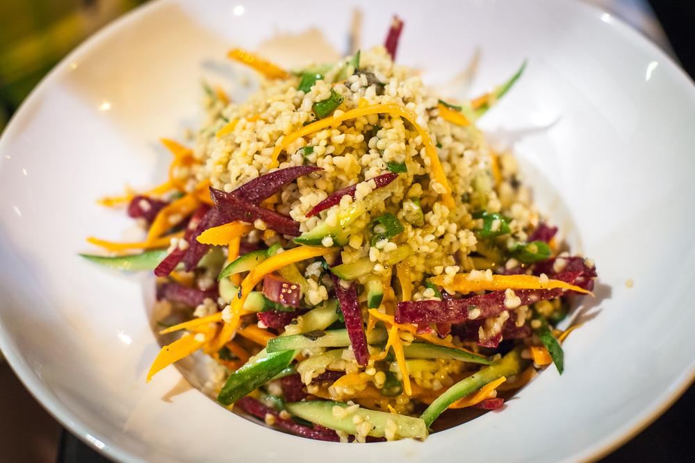 Health and happiness salad, Adraba, Tel Aviv, Israel