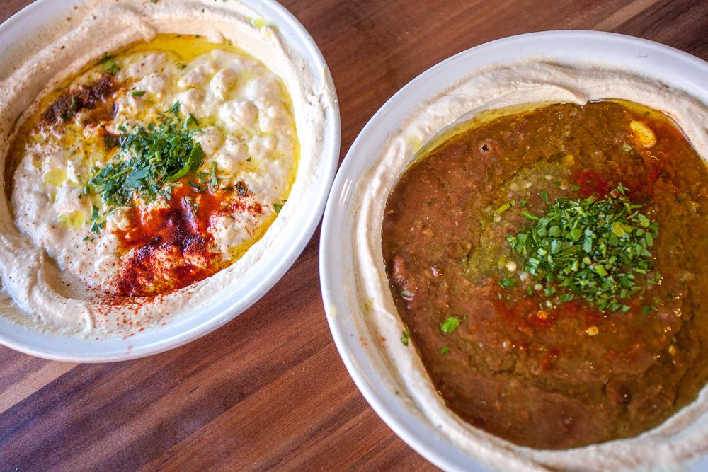 Abu Hassan (Ali Karavan) hummus - Jaffa