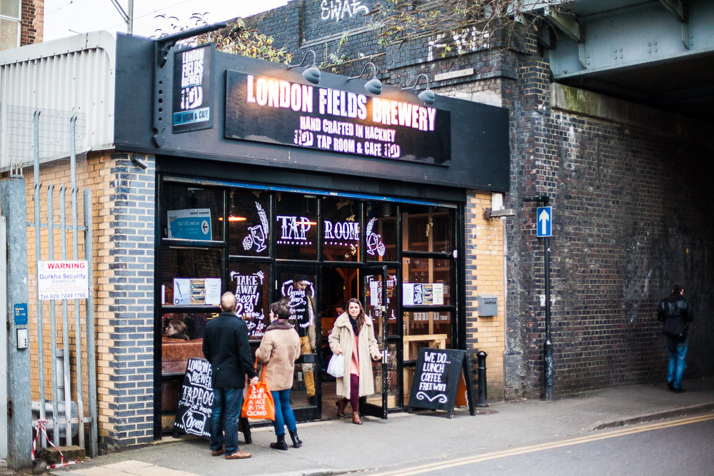 London Fields Brewery, London, UK