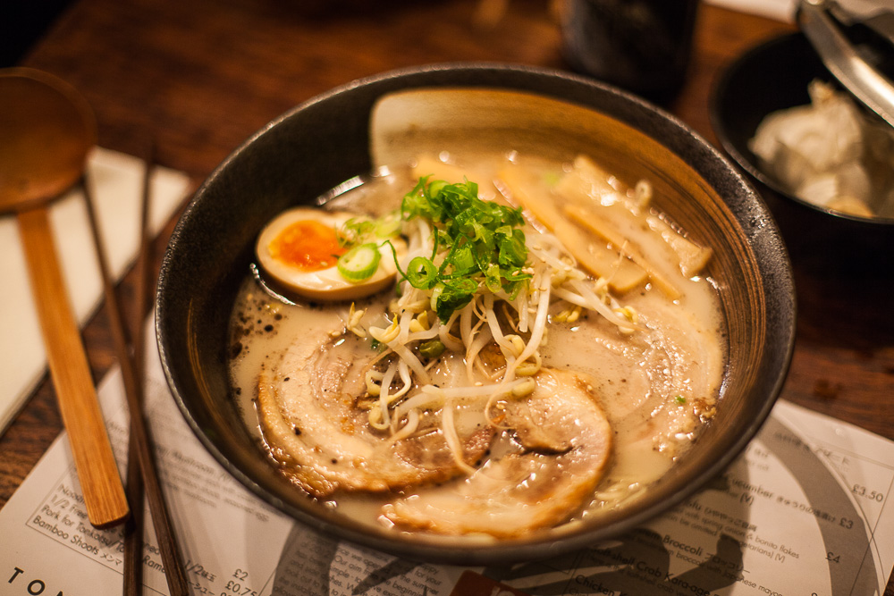Tonkotsu Ramen, London, UK