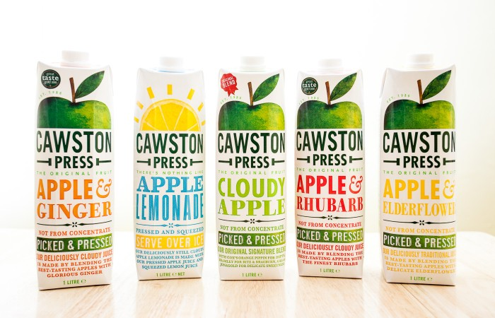Cawston Press Apple Juices