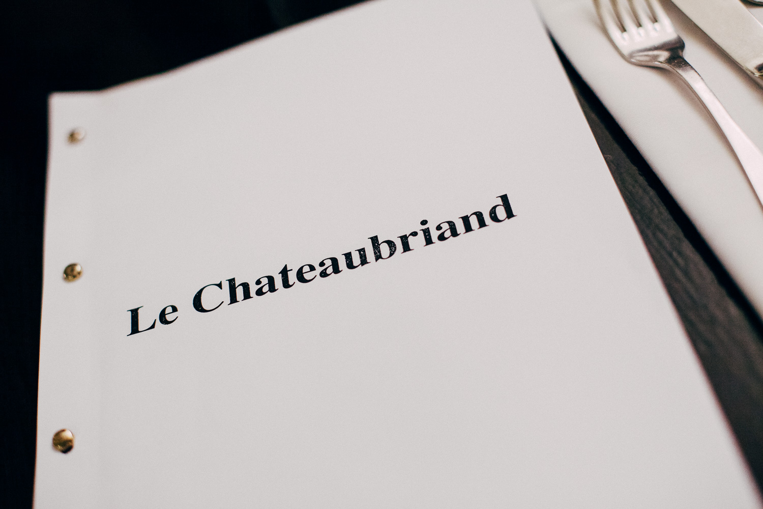 Le Chateaubriand, Paris