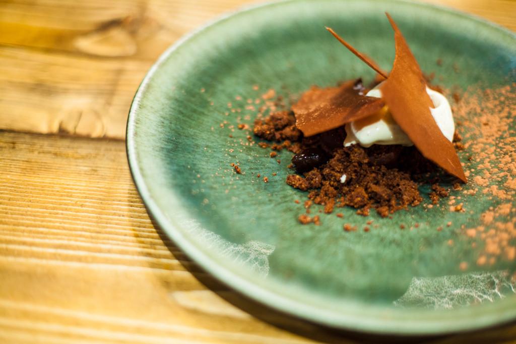 Chocolat, olives taggiasche
