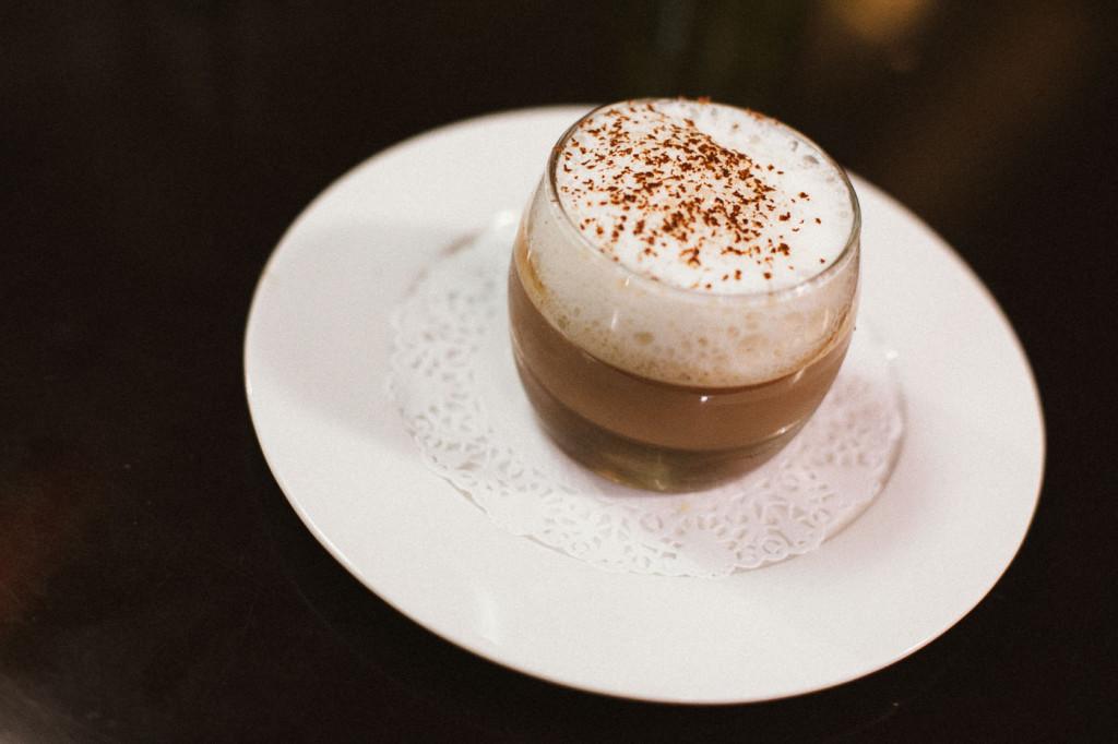 Mousse chocolat au noix de tonka